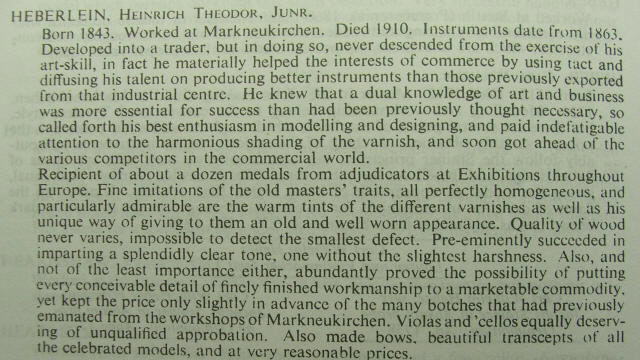 universal dictionary of violin and bow makers